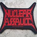 Nuclear Assault-Official logo patch,1991