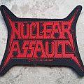 Nuclear Assault-Official logo patch,1991