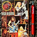 Slayer- Reign in Blood Tour 1987 postcard