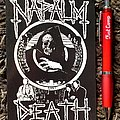 Napalm Death - Other Collectable - Napalm Death- Life, official postcard