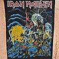 Iron Maiden - Patch - Iron Maiden- Live After Death BP, 1985