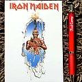 Iron Maiden- Seventh Son of a Seventh Son, official postcard 1990
