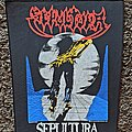 Sepultura- Escape to the Void BP, 1999 Patch