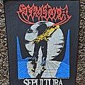 Sepultura - Patch - Sepultura- Escape to the Void BP, 1999