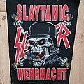 Slayer - Patch - Slayer- Slaytanic Wehrmacht 1990, original BP