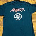 Anthrax  - devil star 2004 64 x 49 cm  - 25 X 19,2 INCH
