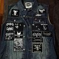 black metal vest front update Battle Jacket