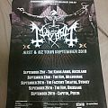 Mayhem 2010 Australian Tour Poster Other Collectable