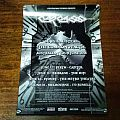 Carcass 2014 Australian Tour Poster Other Collectable
