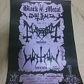 Mayhem - Other Collectable - Mayhem 30th Anniversary Tour with Watain Poster