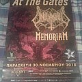 At the gates Unleashed Memoriam 2018 Event Poster