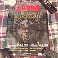 Kreator - Other Collectable - Kreator 2009 Event Poster