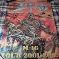 Sodom - M16 tour Poster Signed by Tom Angelripper
