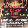 Iron Maiden Monsters Of Rock Event Poster