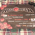 Helloween 2003 Event Poster Other Collectable
