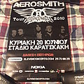 Aerosmith 2010 Event Poster Other Collectable
