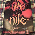 Nile 2005 Event Poster Other Collectable