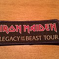 Iron Maiden Legacy Of The Beast Tour Patch