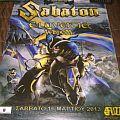 Sabaton Eluveitie event poster