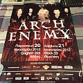 Arch Enemy 2012 Event Poster