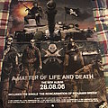 Iron Maiden A matter Of Life And Death Promo Poster Other Collectable
