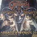 Exodus Obituary 2012 Event Poster