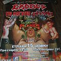 Exodus Tankard The Haunted event poster