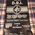 D.R.I 2003 Event Poster Other Collectable