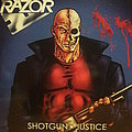 Razor ‎– Shotgun Justice (Blue LP)