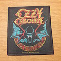 Ozzy Osbourne - Patch - Ozzy Osbourne Bat Patch