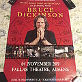 An Evening With Bruce Dickinson Poster Other Collectable