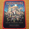 Iron Maiden - Patch - Iron Maiden Legacy of The Beast Patch