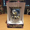 Iron Maiden Live after death PINT GLAS Other Collectable
