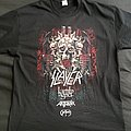 """Slayer """"Final Tour"""" 2018 tour shirt"""