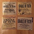 Collection of early CoF tickets, some signed, some not Other Collectable