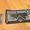 Reincarnacion - Patch - Reincarnacion large faux leather Patch, new, never worn