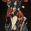 Crimson Witch - TShirt or Longsleeve - Crimson Witch t-shirt