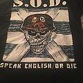 Storm Troopers Of Death - TShirt or Longsleeve - S.O.D Speak English or Die T shirt