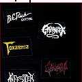 Toxaemia - Patch -  Toxaemia, Ossuary , Infester