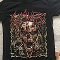 Slayer official last tour merch