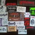 Old  Death Metal Stickers (Tape trading days)