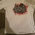 White BloodBath Blood Splattter Shirt