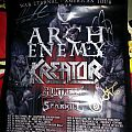 Huntress & Arch Enemy signed posters