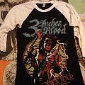 """TShirt or Longsleeve - 3 Inches Of Blood """"Pick Your Axe"""" baseball tee"""