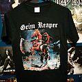 """Grim Reaper """"See you in hell"""" boot TShirt or Longsleeve"""