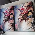 Other Collectable - 2 pairs of Iron Maiden The Troopers Vans High tops