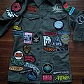 Sewn on a Brant Bjork and the Bros jacket UPDATE III