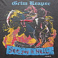 Grim Reaper - TShirt or Longsleeve - GRIM REAPER - See You in Hell 1987 Tour Shirt SEP/OCT