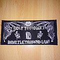 Bolt Thrower - In Battle There Is No Law! stripe patch