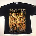 Immolation - World Of Darkness Tour '01